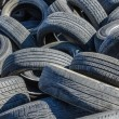 Old Car Tires — Stockfoto