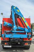 Crane manipulator — Stock Photo