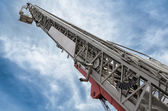 Hydraulic man lift — Stock Photo