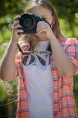 Photographer — Stok fotoğraf