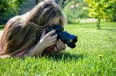 Fotógrafo — Foto Stock
