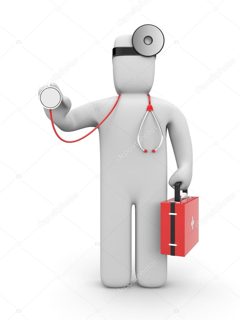 Medical concept. Isolated on white — Stock Photo #13200756