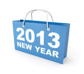 Sales in new year — Stock Photo