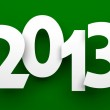 New Year 2013 card — Stock Photo #14057919