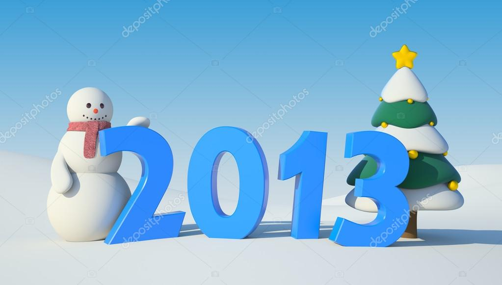 Illustration for New Year and Christmas  Stock Photo #14346611