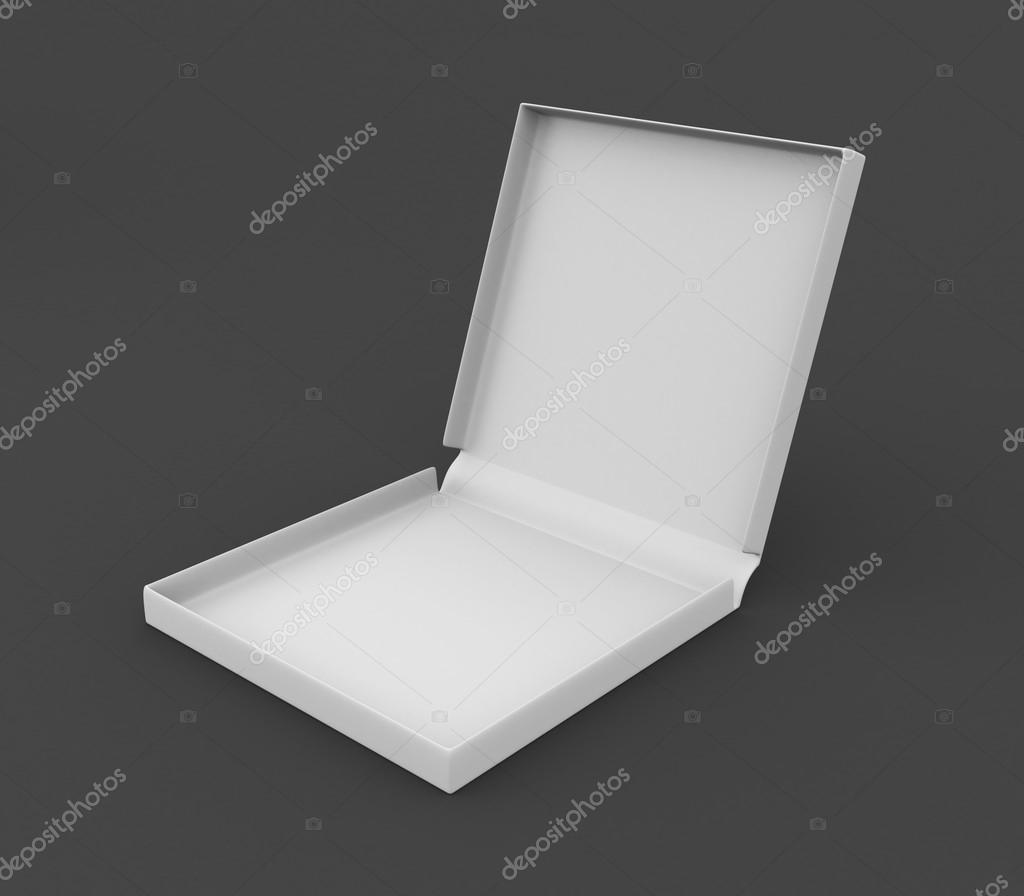 3d box for pizza. Conceptual image — Foto Stock #19714869