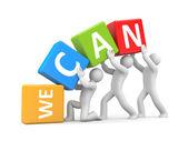 Podemos — Foto de Stock