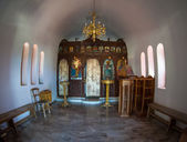 Greece church Interior — Stock Photo