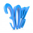 Thirty percent symbol — Stock Photo