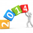 New year coming — Stock Photo