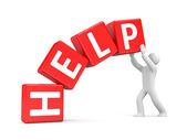 Help me — Stock Photo