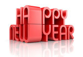 New Year 2014 card — Stock Photo