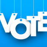 Vote metaphor — Stock Photo #47325411