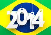 бразилия 2014 — Стоковое фото