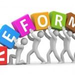 Reform — Stock Photo #48059237