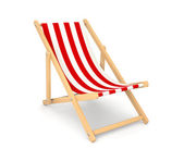 Deck chair — Foto Stock