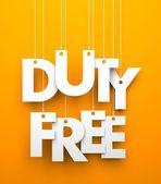 Duty Free — Stock Photo