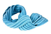 Braided scarf — Stock Photo