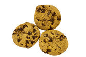 Biscuit with chocolate chips — Stock Photo