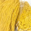 Packaged yellow noodles — Stockfoto
