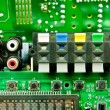 Stock Photo: Iintegrated circuit
