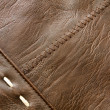 Texture of leather — Stock Photo