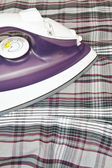 Electric steam iron — Stock Photo