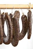 Homemade sausage — Stock Photo