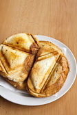 Toast sandwich — Stock Photo