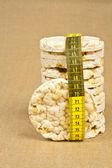 Rice wafers — Stock Photo