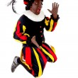 Excited jumping black Pete — Stock Photo #13397368