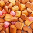 Typical dutch sweets pepernoten (ginger nuts) — Stock Photo