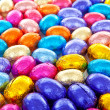 Background of colorful easter eggs — Stock Photo