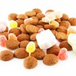 Stock Photo: Typical dutch sweets: pepernoten (ginger nuts)