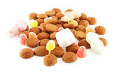 Typical dutch sweets: pepernoten (ginger nuts) — Stockfoto