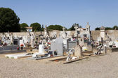 Typical French cemetery — Stock Photo