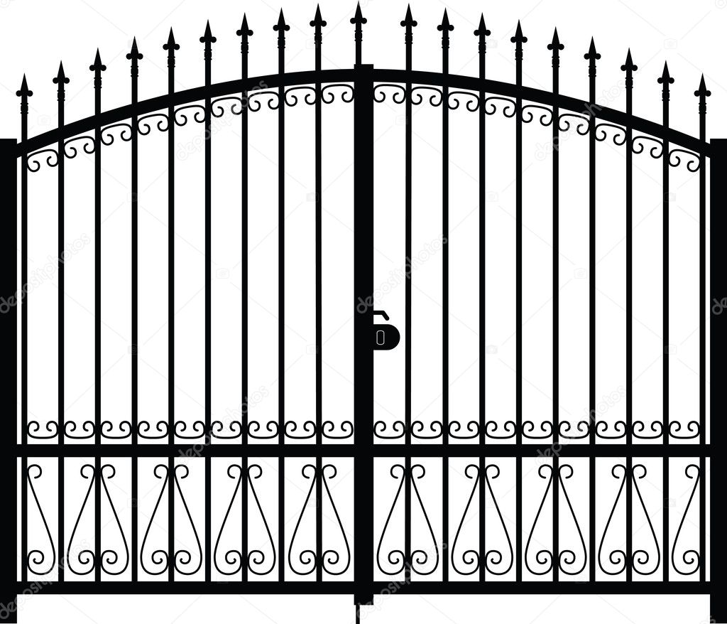 garden gate clipart - photo #34