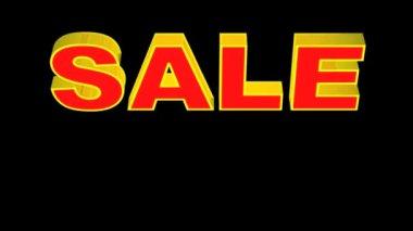 Sale discount — Stock Video