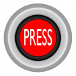 Stock Photo: Press button
