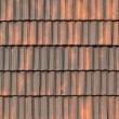 Old tile pantile for the roof — Stock Photo