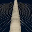 Pylon of bridge — Stock Photo