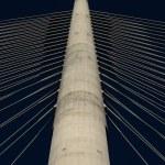 Pylon of bridge — Stock Photo