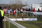 Womans race — Stock Photo