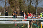 Womans race — Foto Stock