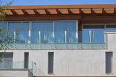 Terrace and facade — Foto Stock
