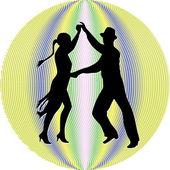Dancing7 — Stock Vector