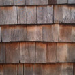 Stock Photo: Wood shingles