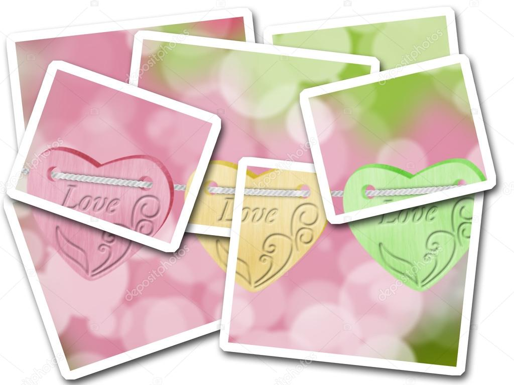 Cards for Valentine day — Foto Stock #13640272