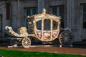 Transport of the Russian tsars.Royal carriage. — Stock Photo