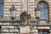 Prague,Czech Republic.Сity streets. — Stock Photo
